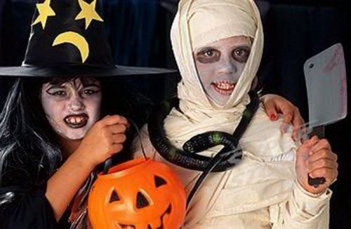 Костюм на хэллоуин в домашнем условиях