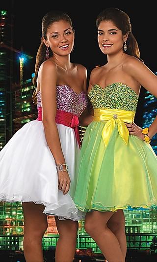 модели платьев этого трэнда на выпускной