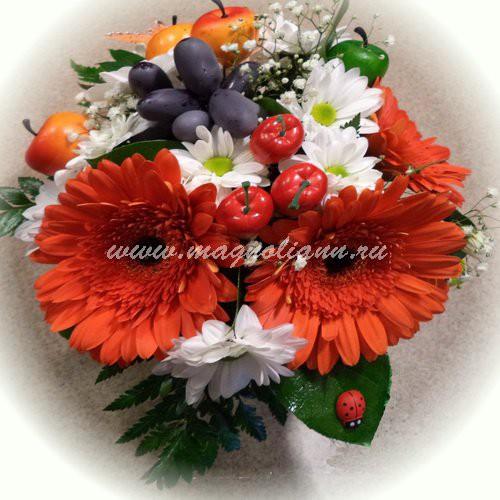 Цветочный салон «Магнолия» (831) 278-38-11     +7(964) 834 26 37