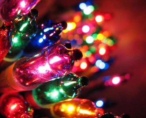 Световые эффекты на новый год своими руками