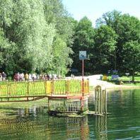 Пляж на озере №1