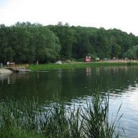 Пляж на озере №2