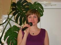 Аниматор и ведущая Светлана Пояркова