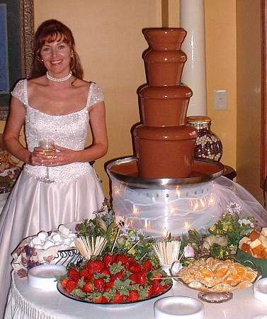 «Фонтан де Люкс», шоколадные фонтаны