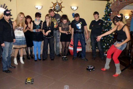 """Новогодняя вечеринка в стиле ретро для сотрудников компании  """"Крона """"."""