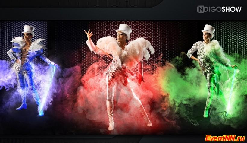 Танцевальное шоу «Индиго»