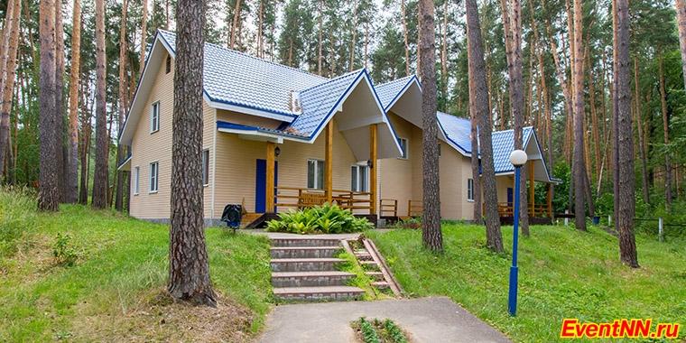 Загородный отель Волга