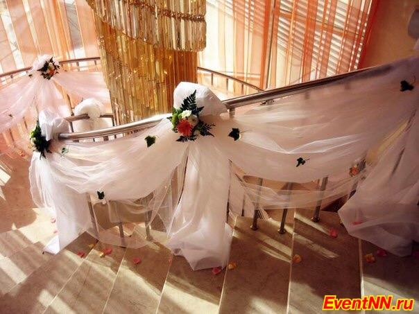 Свадебные украшение тканями своими руками