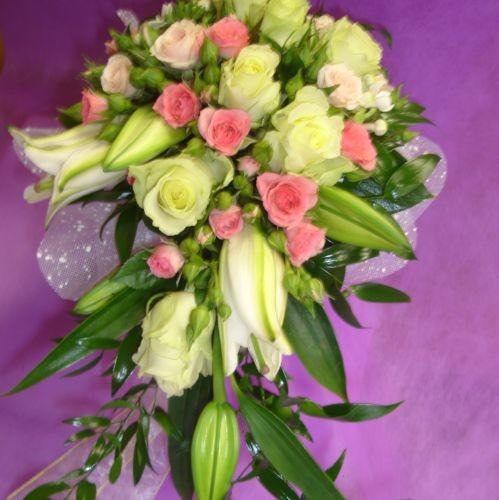Цветочный салон Магнолия, свадебный букет