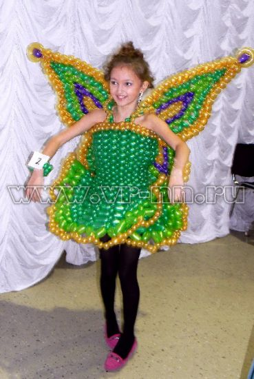 """Платье из воздушных шаров """""""