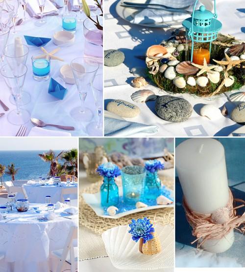 Свадьбы в морском стиле тематические