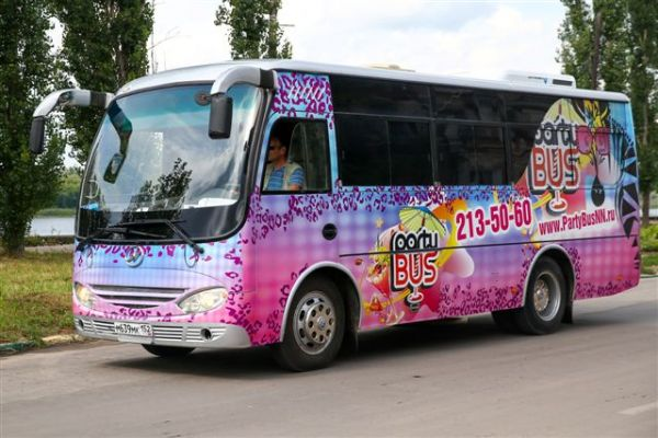 Party bus со стриптизером