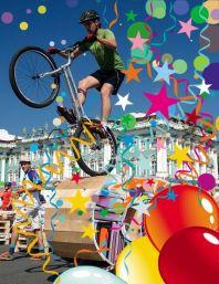 Экстремальное велосипедное шоу Velo-trial (Вело-триал)
