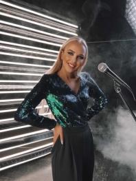 Певица, вокалистка Ольга Зимина